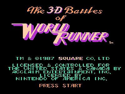 КАРТИНКА 3D битвы мирового бегуна / 3D Battles of World Runner