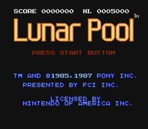 КАРТИНКА Лунный бильярд / Lunar Pool