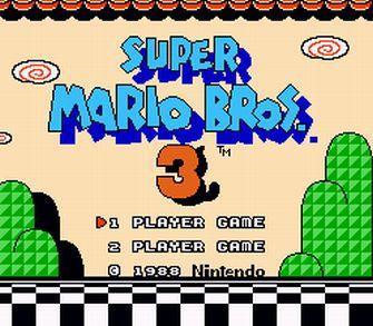 КАРТИНКА Супер Марио 3 / Super Mario Bros 3