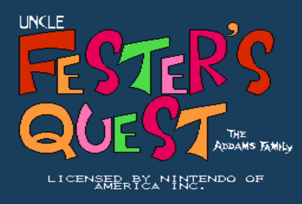 КАРТИНКА Поиски Дяди Фестера / Uncle Fester's Quest