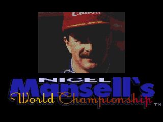 КАРТИНКА Всемирный чемпионат Найджела Манселла / Nigel Mansell's World Championship