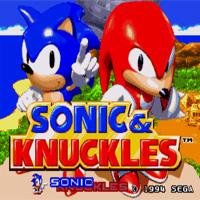 КАРТИНКА Соник и Наклз / Sonic & Knuckles