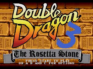 КАРТИНКА Двойной Дракон 3: Розетта Стоун / Double Dragon 3: The Rosetta Stone