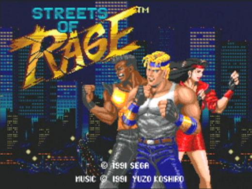 КАРТИНКА Улицы Ярости / Streets of Rage