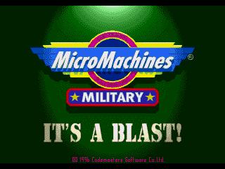 КАРТИНКА Военные микро машины / Micro Machines Military. It's a Blast!
