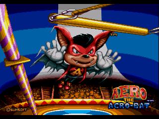 КАРТИНКА Акробат Айро / Aero the Acro-Bat