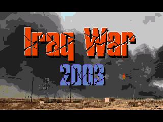 КАРТИНКА Война в Ираке 2003 / Iraq War 2003